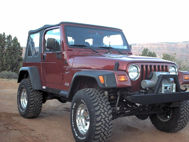 Jeep TJ Suspension and Lift Kit